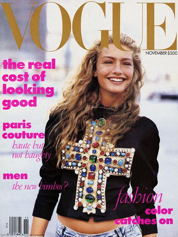 Vogue (US) November 1988 | Michaela Bercu