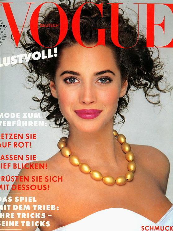 Vogue (Germany) June 1987 | Christy Turlington