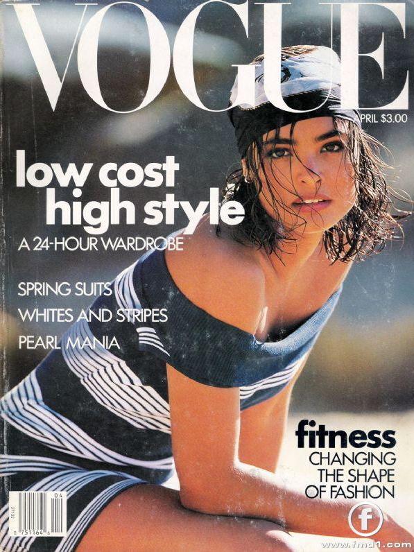 Vogue (US) April 1989 | Talisa Soto