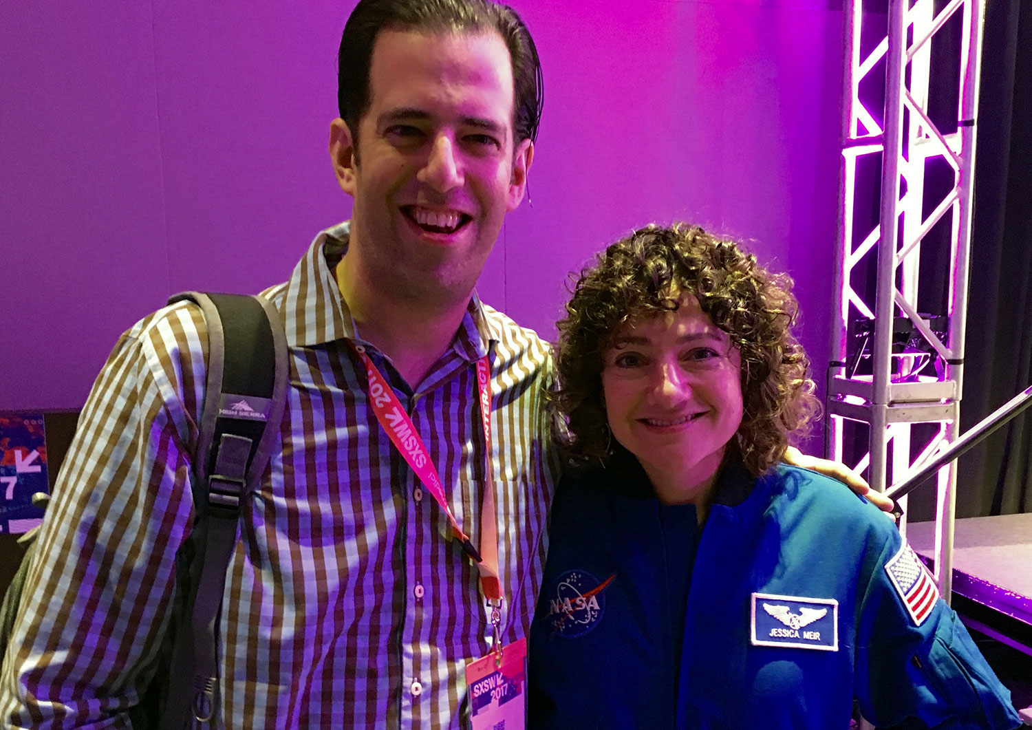 Astronaut Jessica Meir is out of this world