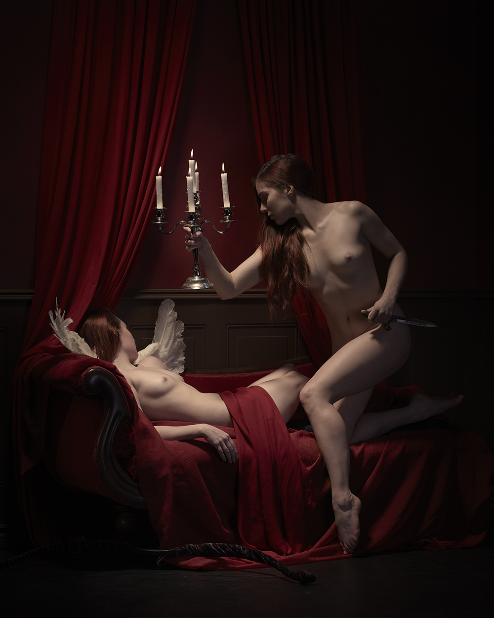 Psyche Discovers Eros