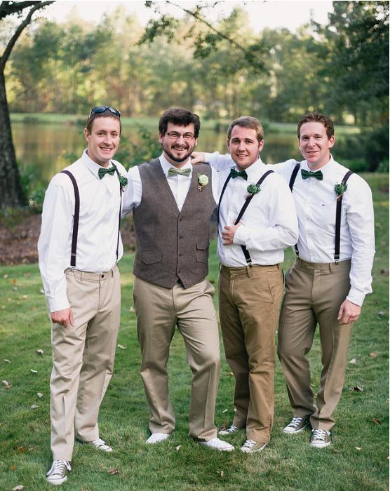 Mike, Myself, Jake, and Justin at my wedding.