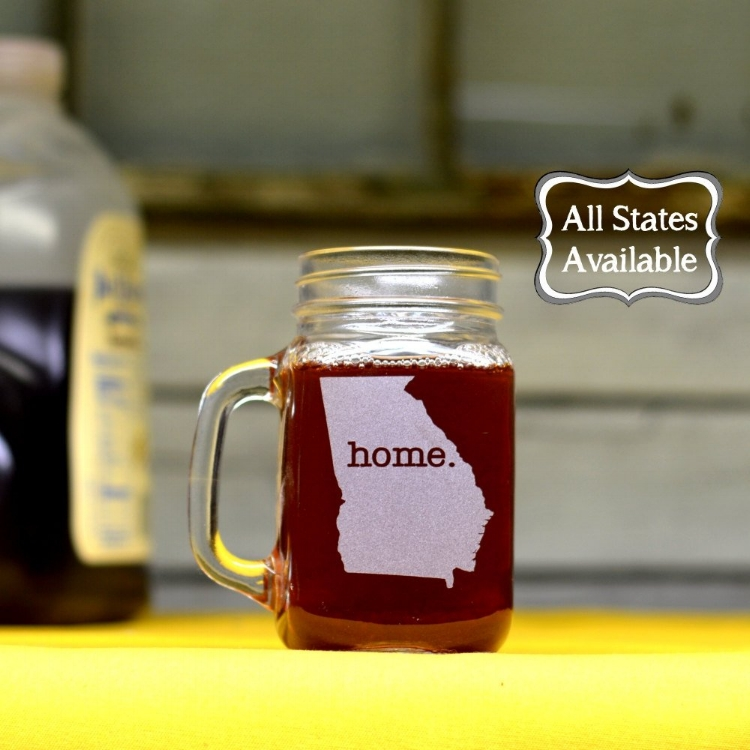 Our mason jars add a little southern charm.