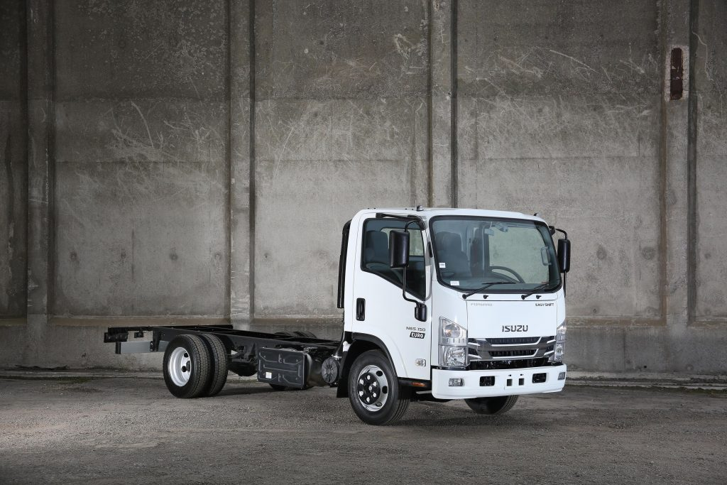 ISUZU 5.5-6.5 TONNE - The next step up in payload and capability.Available in multiple specifications.