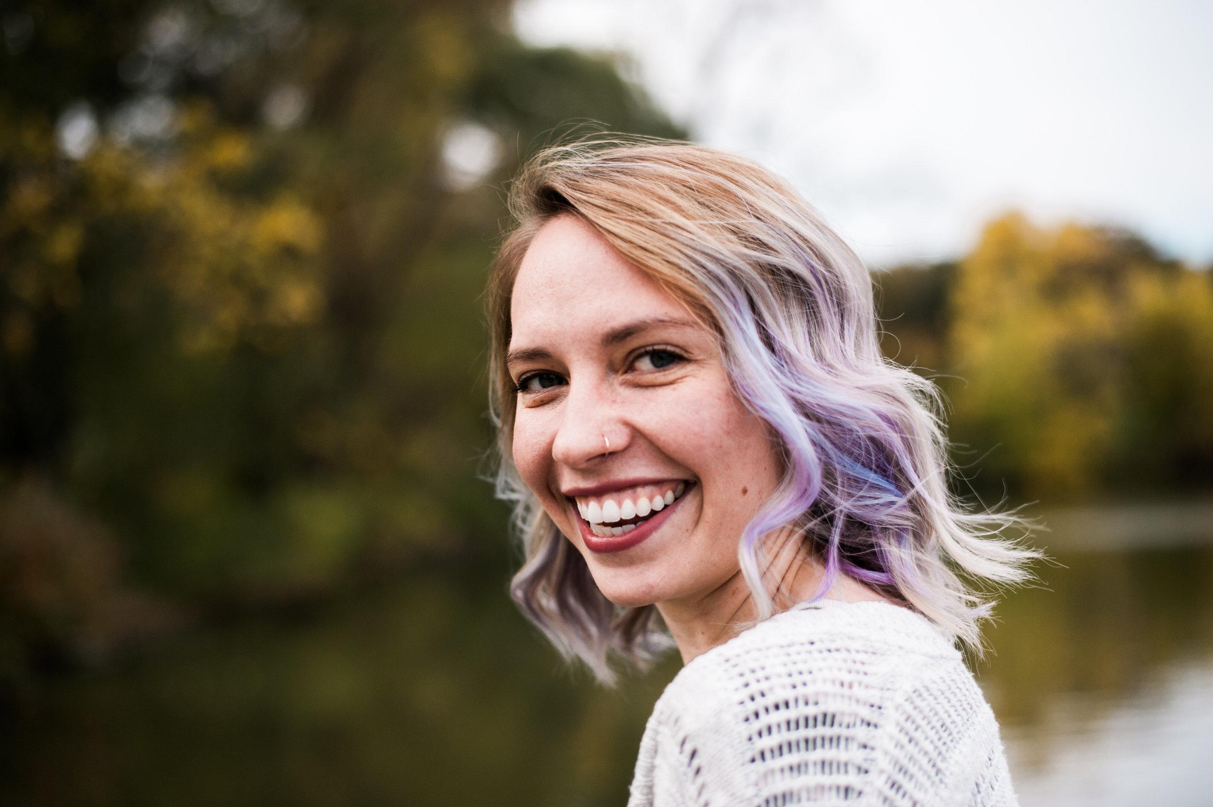 Photo of Emily by    Athena Feldshon   .
