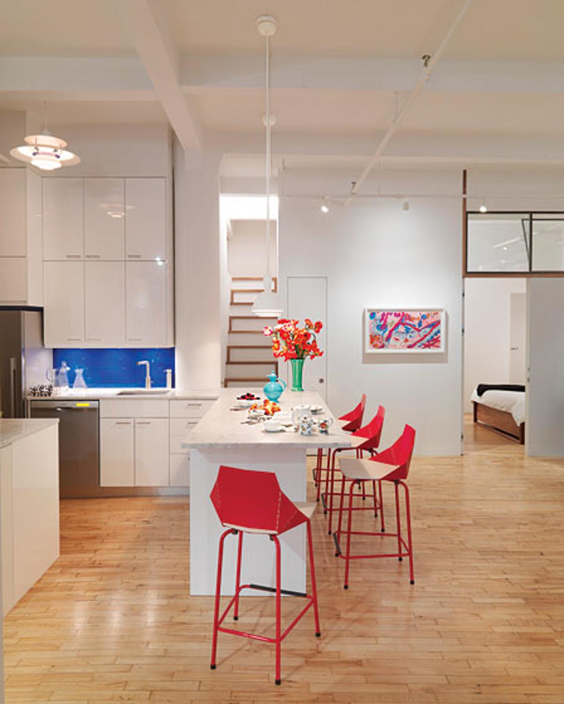 Kitchen _Ribbon Stair_I-Beam Design _Photo by Thomas Loof_NY Magazine.jpg