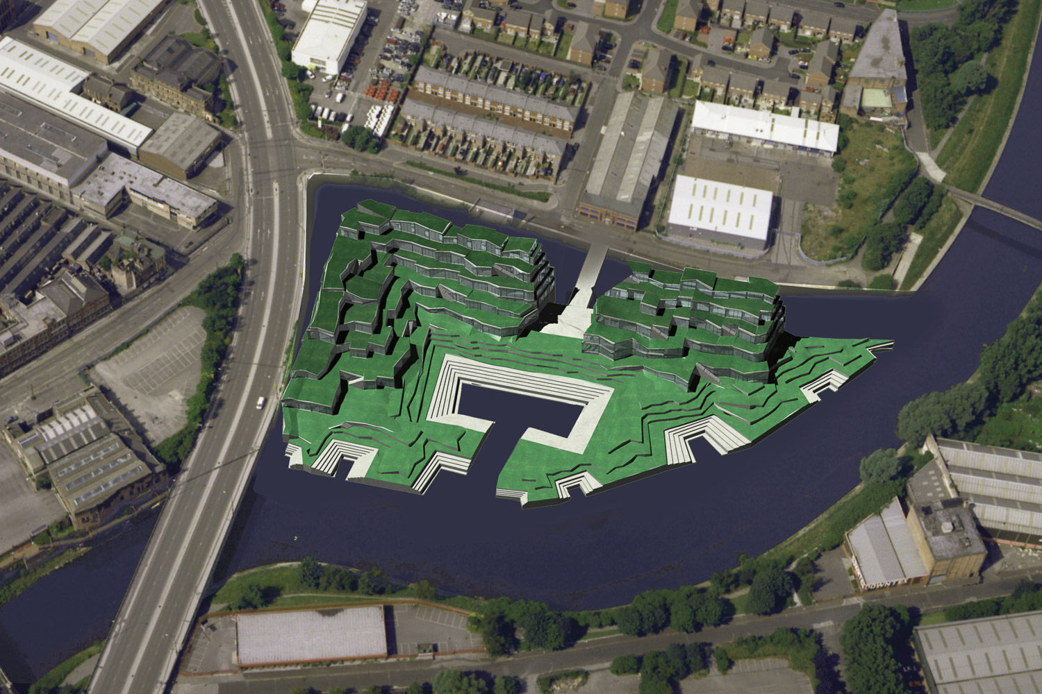 I-Beam Design Manchester Green Housing Complex Arial View_.jpg