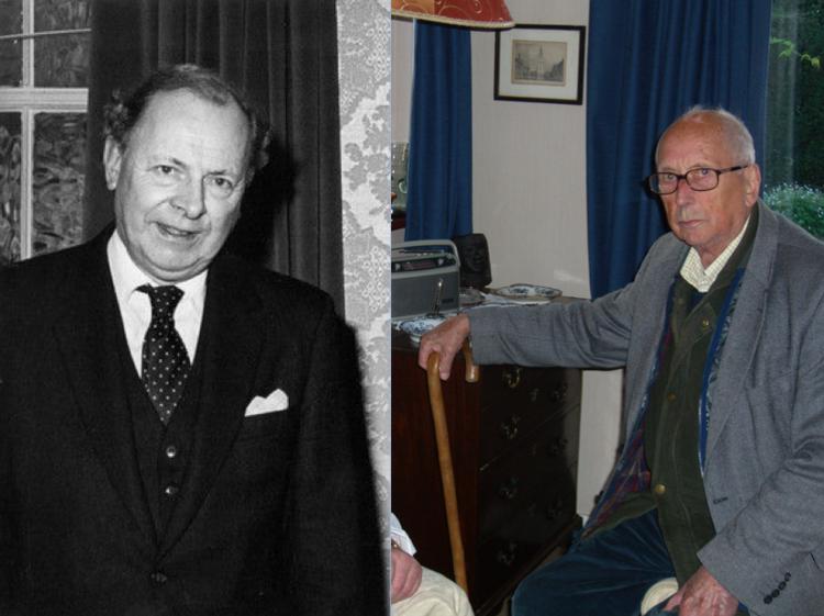 Iain Hamilton with John Davies