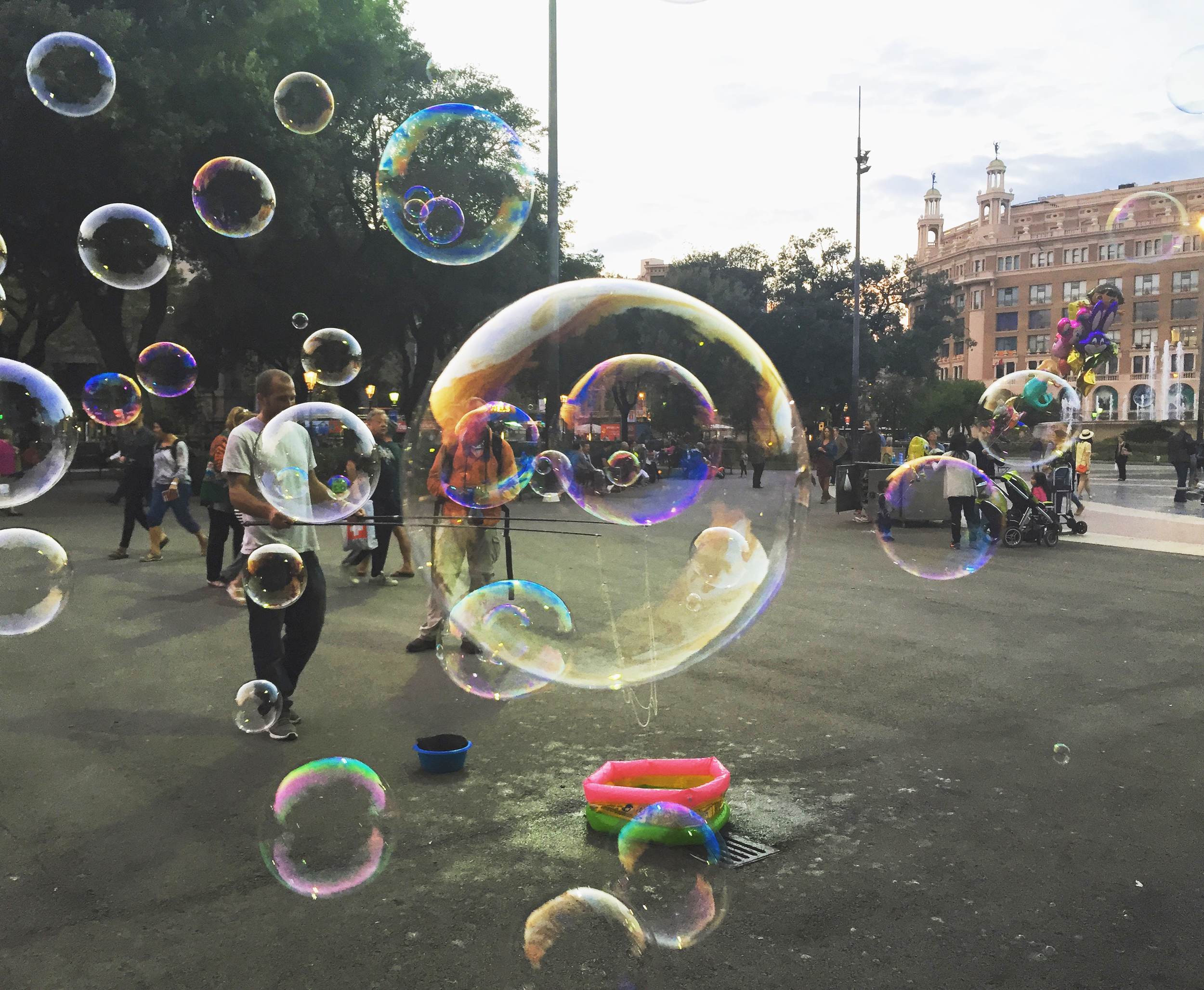 Bubbles in Madrid