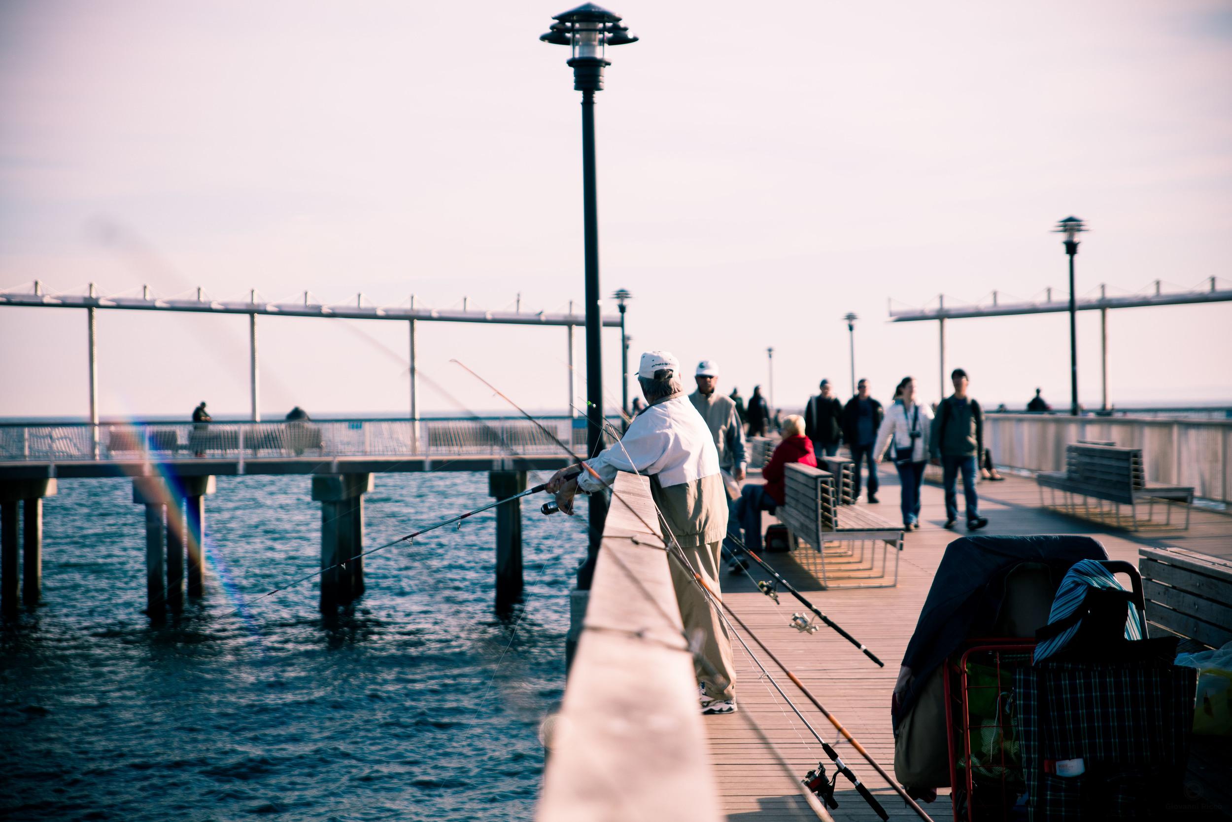 Fishermen in NYC