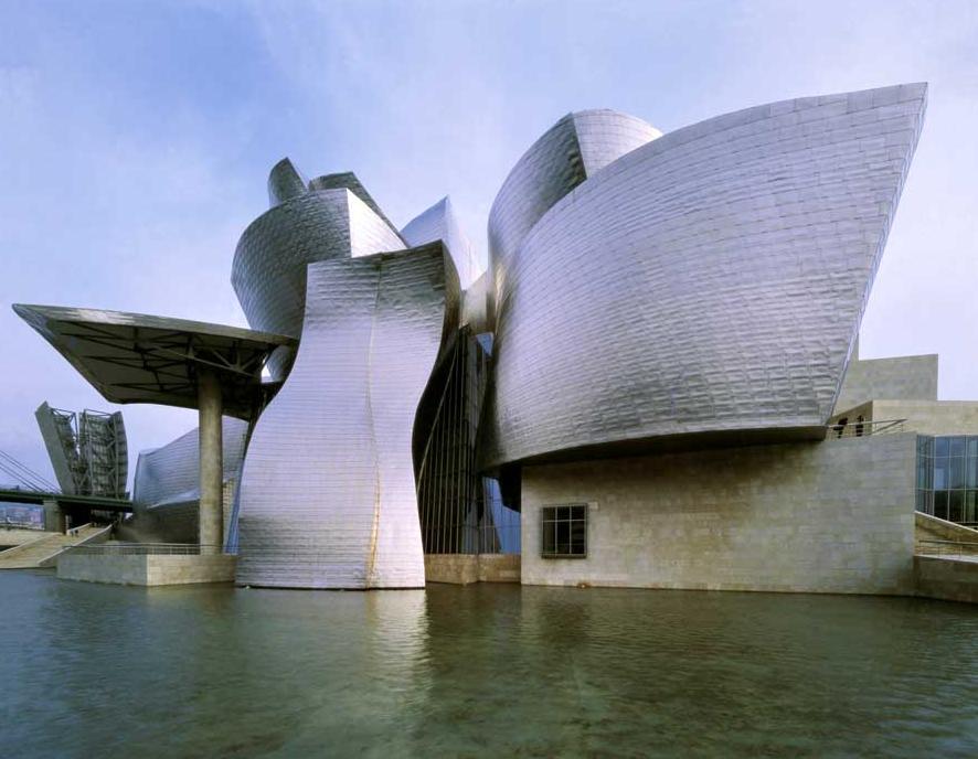 Frank Gehry-Bilbao Guggenheim