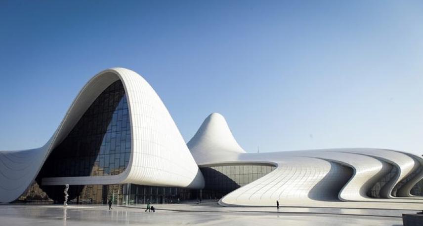 Heydar Aliyev Center- Zaha Hadid
