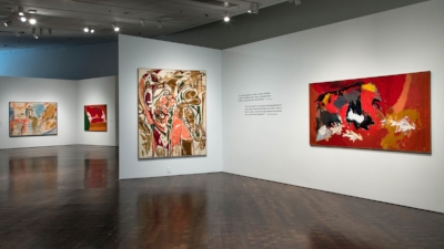Women of Abstract Expressionism Curated by Gwen Chanzit Installation shot