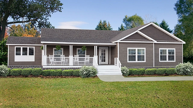 White Painted Porch House