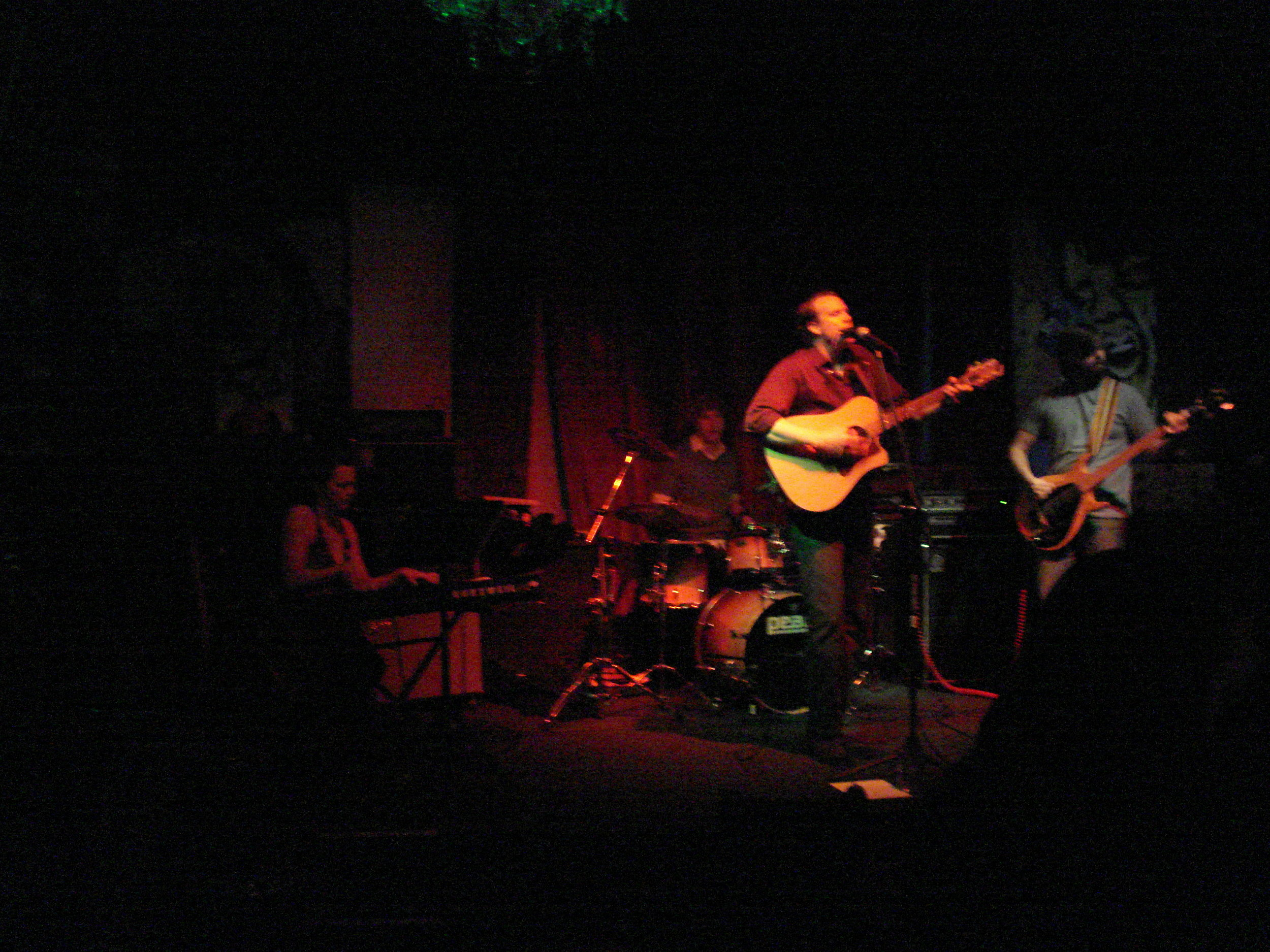 Silvergirl's first show at Mahoney's. w/Allison Hendrix, Matthew Sitz and Adam Melberth