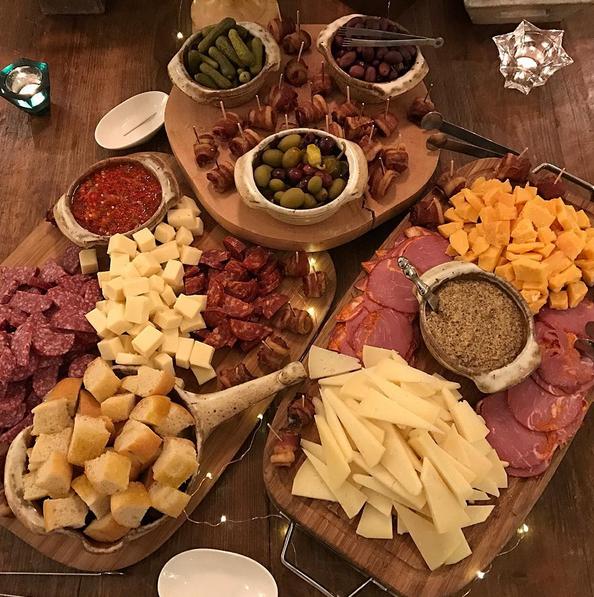 charcuterie platter by Derek