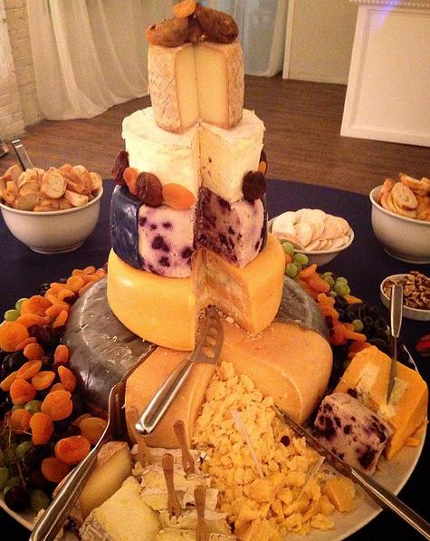 groom's cheese wheel cheese cake
