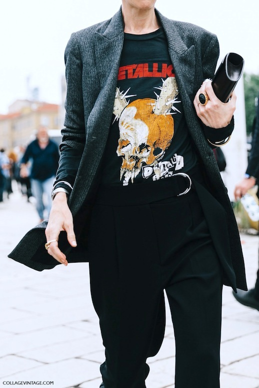Le-Fashion-Blog-Fall-Street-Style-Mfw-Grey-Pinstripe-Blazer-Vintage-Metallica-Band-Tee-Black-Trousers-Clutch-Gold-Rings-Via-Collage-Vintage.jpg
