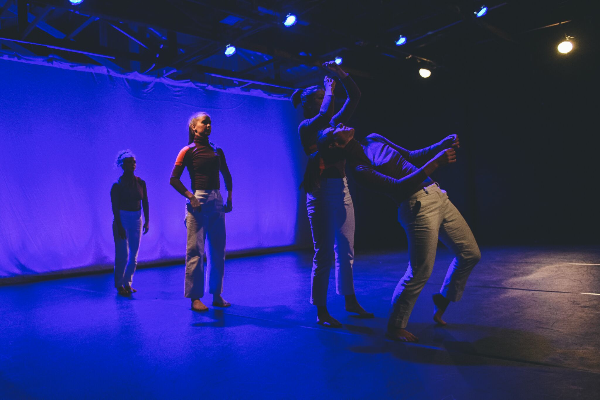 Dancers: Hailley Laurèn, Lucy Wilson, Taryn Lavery, Alex Miller