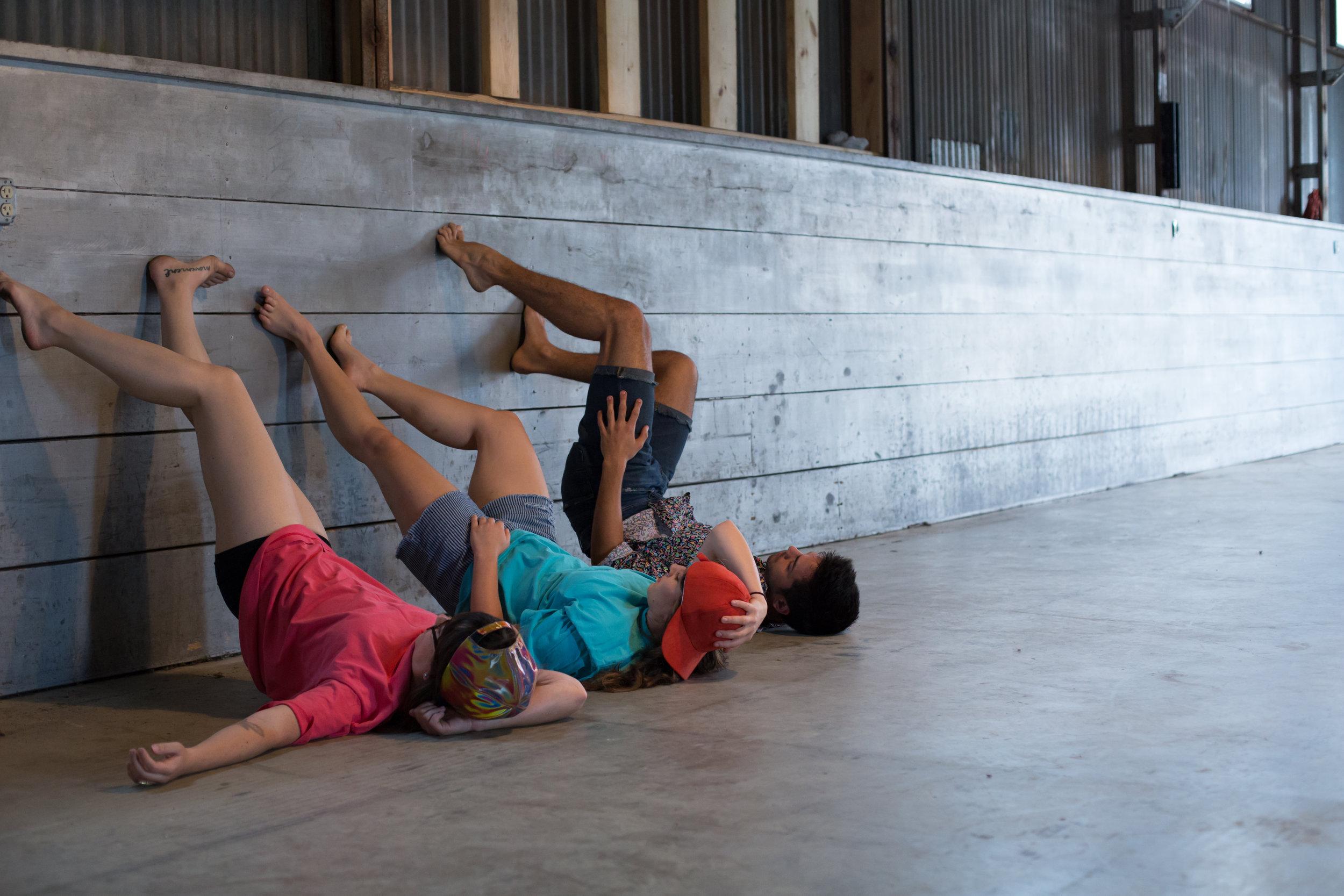 Dancers: Maggie Bailey, Jenny Alperin, Clay Moore