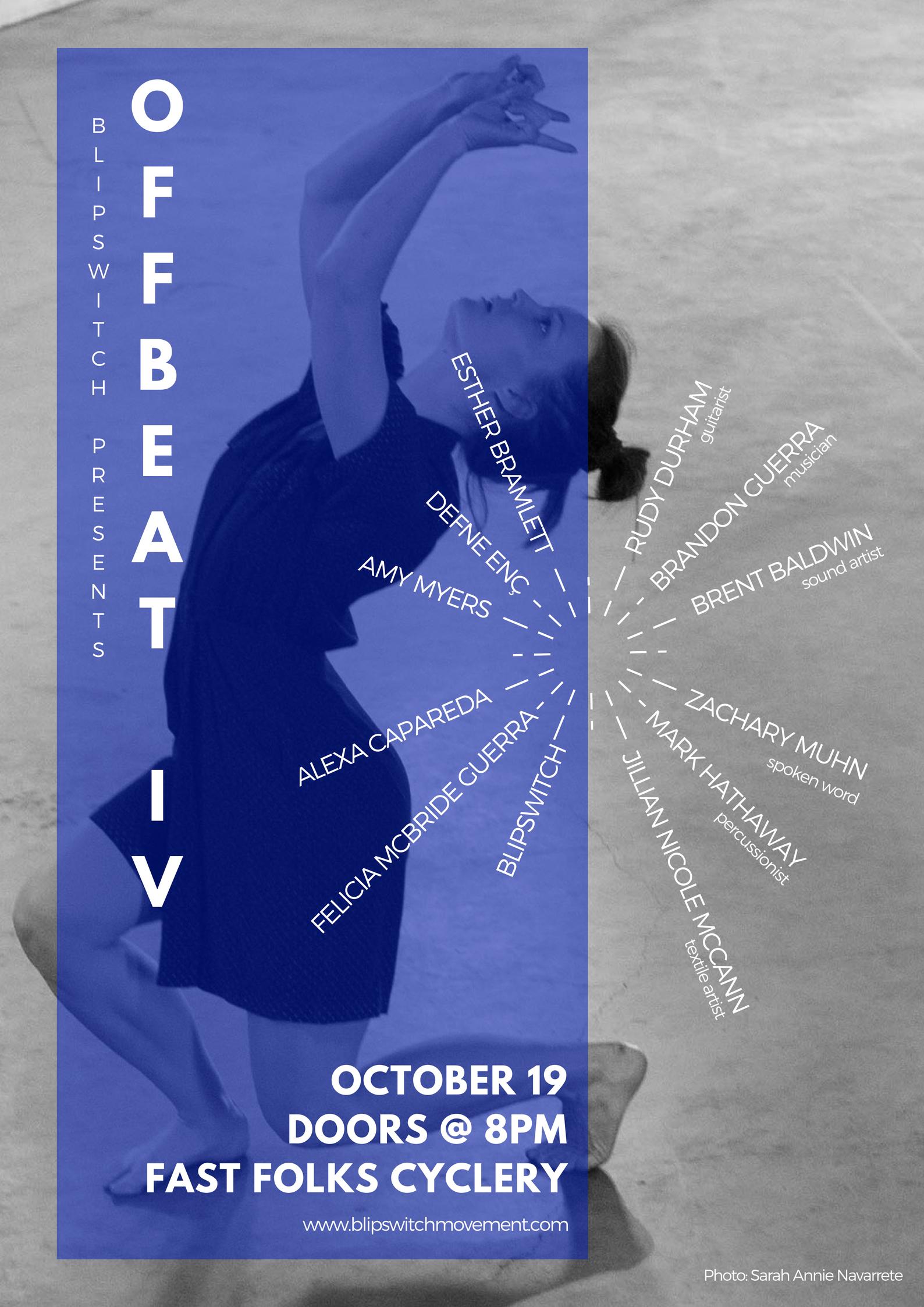 BLiPSWiTCH presentsOffbeat IV - October 19, 2017Austin, TX
