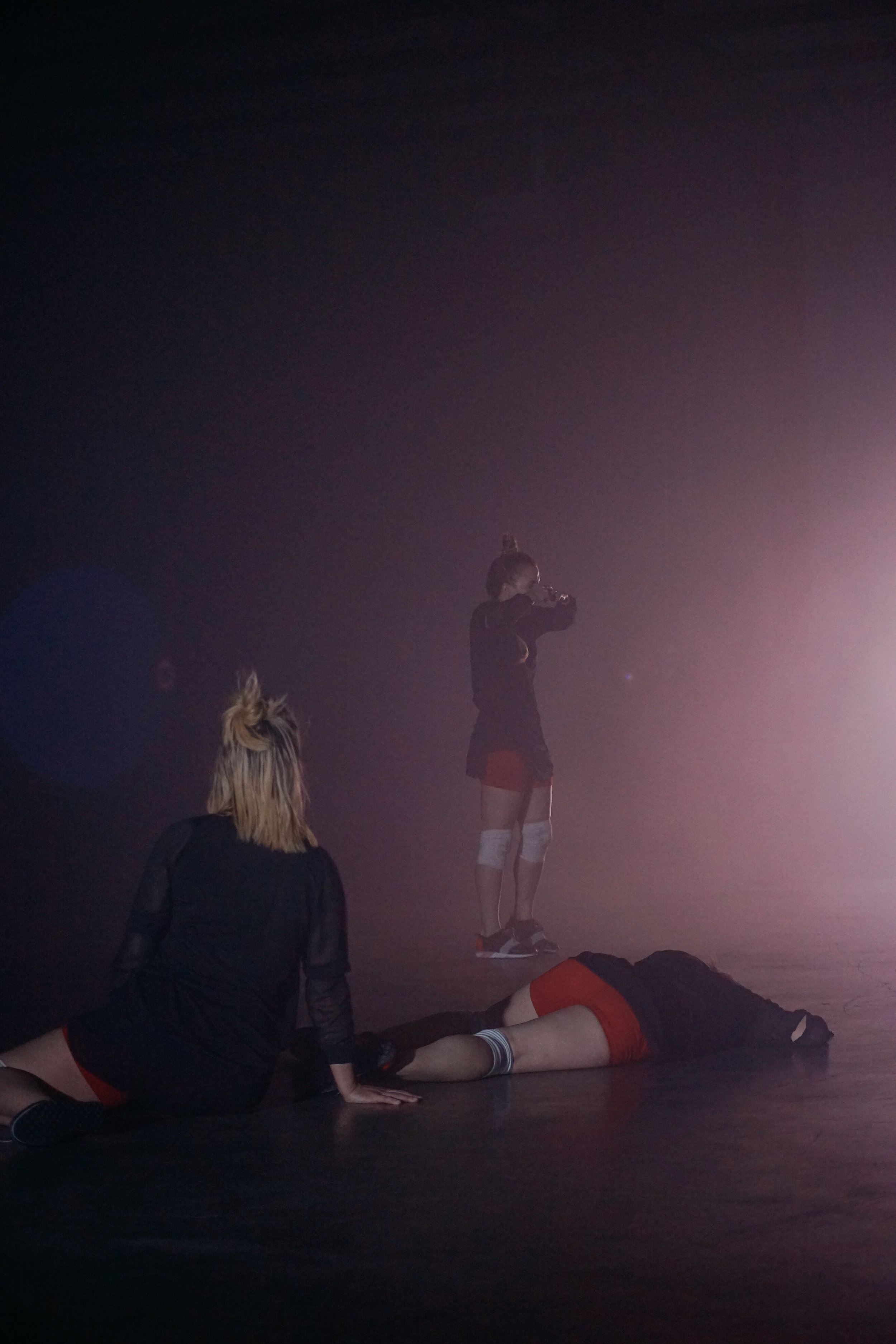 Dancers: Alex Miller, Katie Hopkins, Taryn Lavery