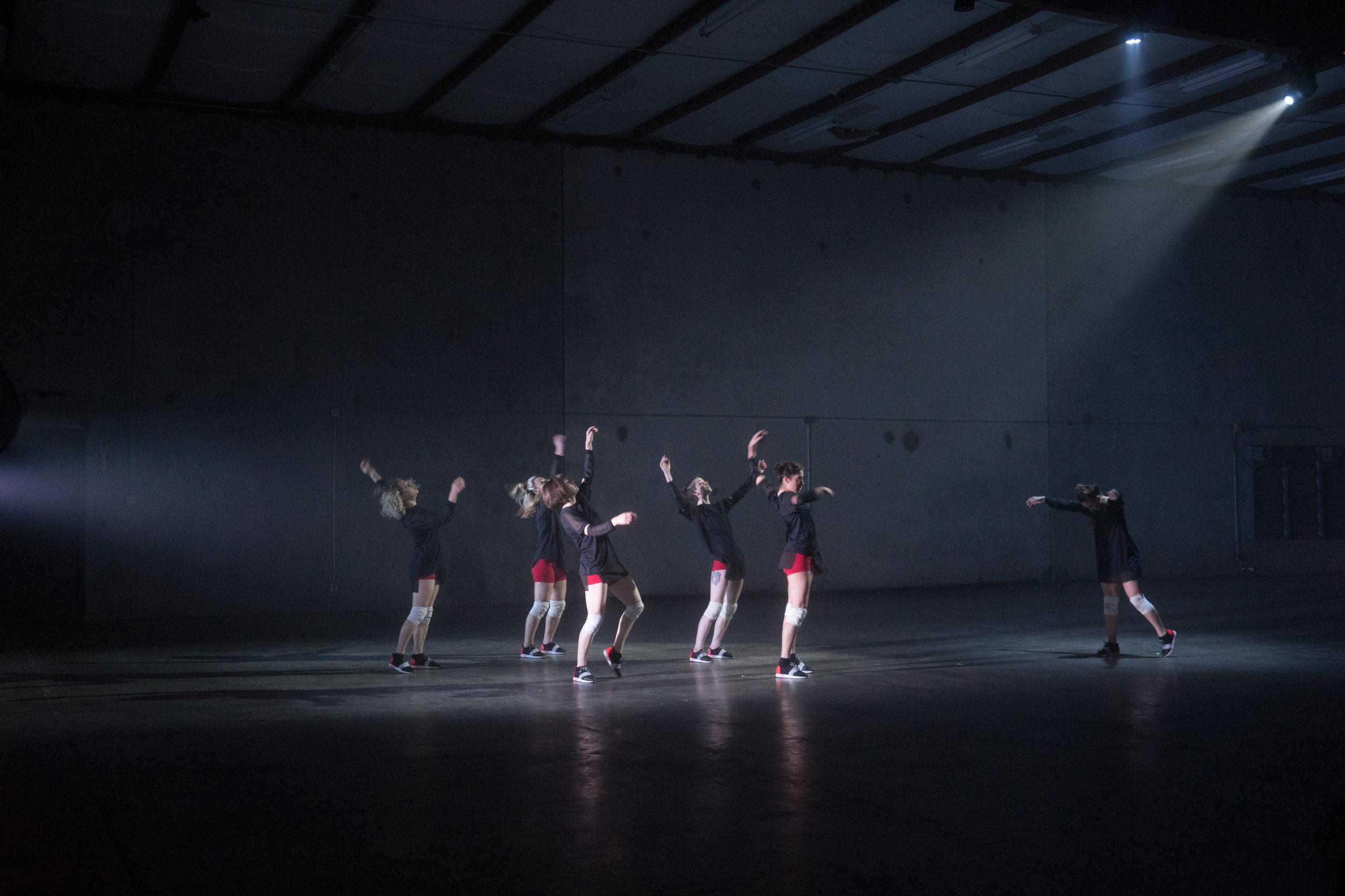 Dancers: Hailley Lauren, Alex Miller, Taryn Lavery, Katie Gunderson, Sarah Navarrete, Katie Hopkins
