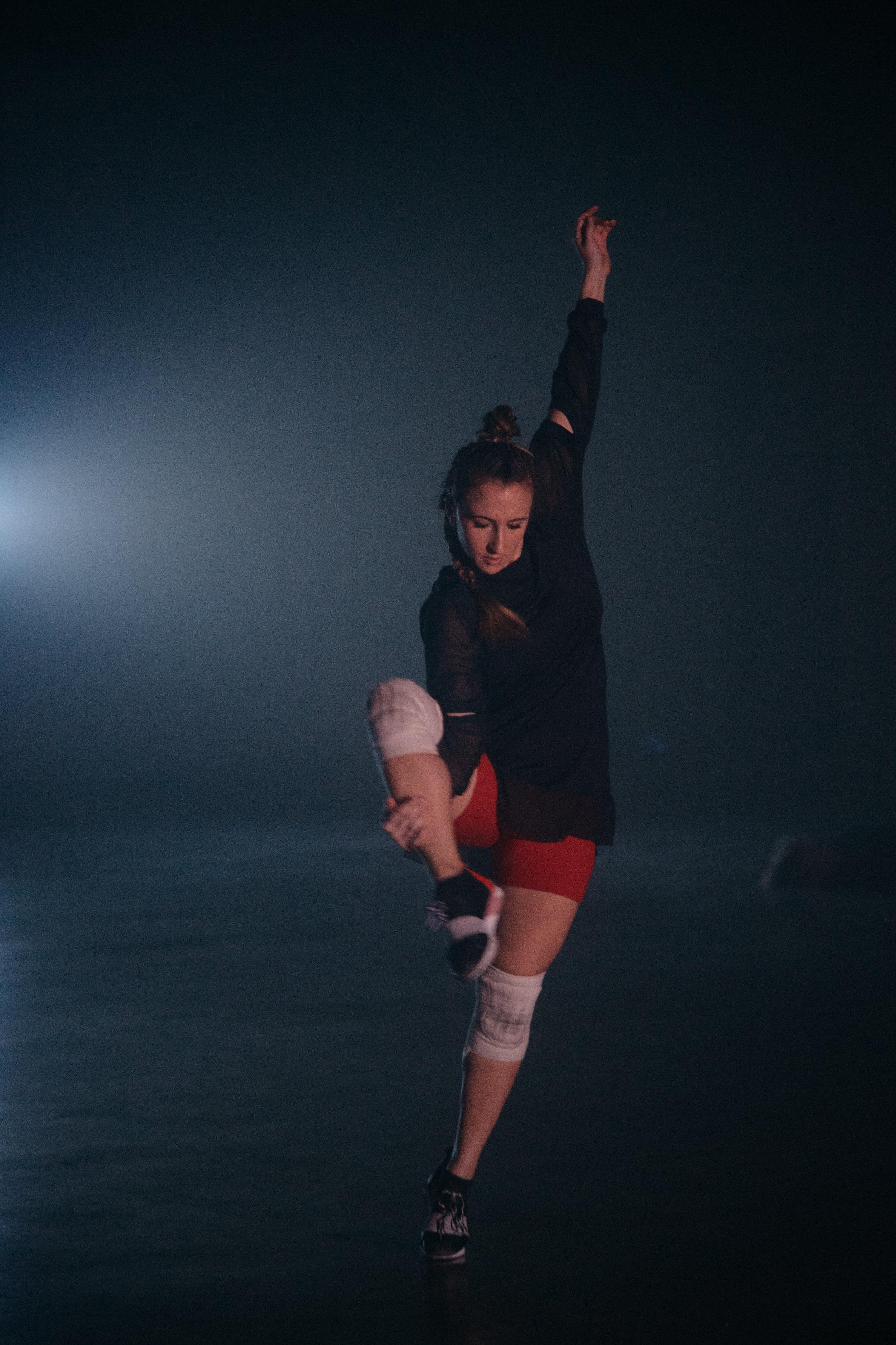 Dancer: Katie Hopkins