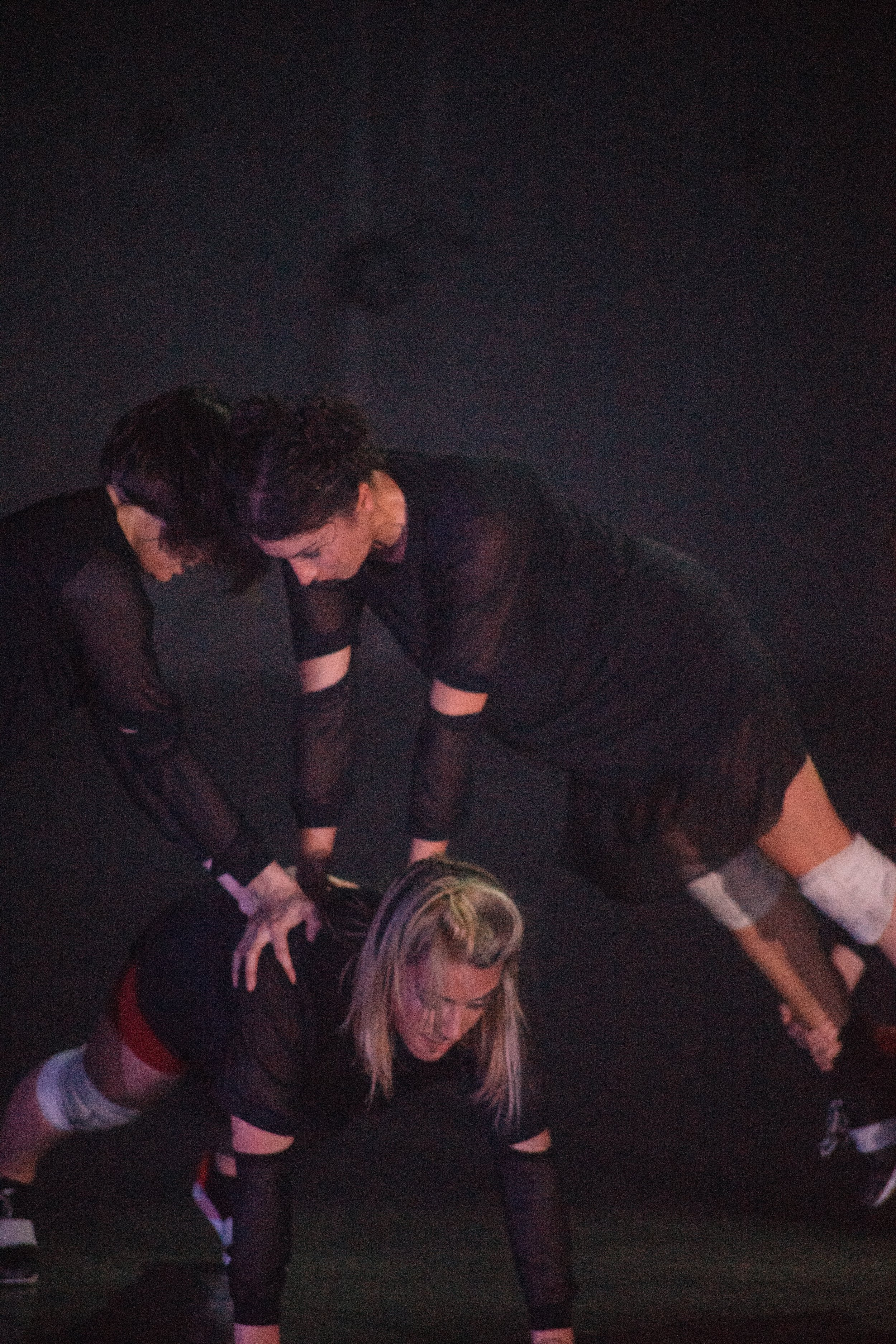 Dancers: Taryn Lavery, Alex Miller, Sarah Navarrete