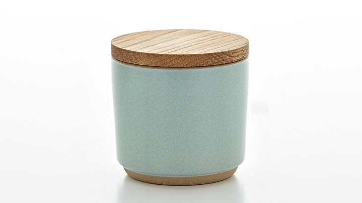 Container with Wood Lid | Heath Ceramics