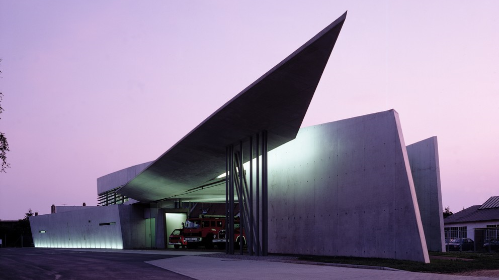 Vitra Fire Station | Zaha Hadid Architects