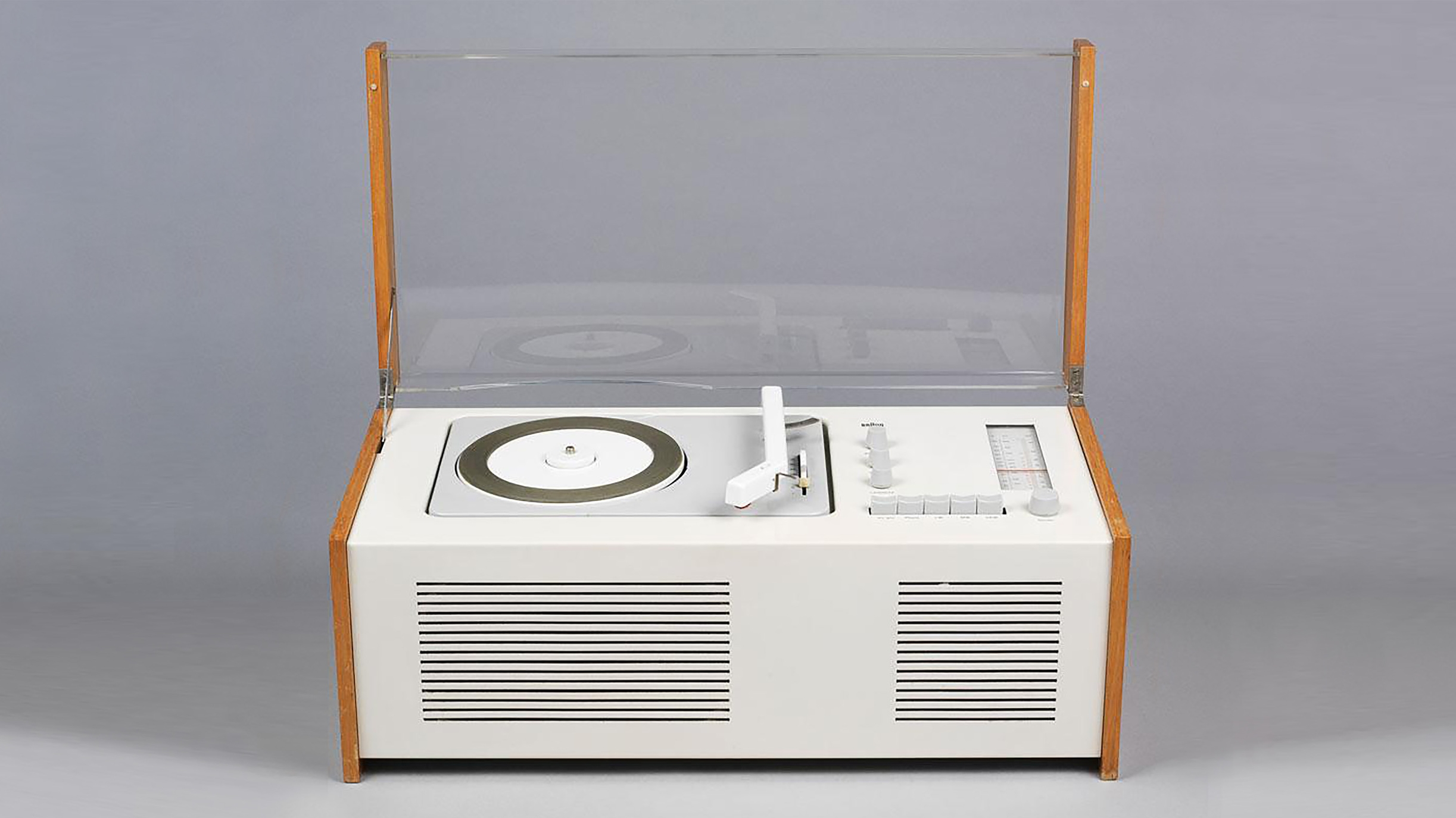 SK5 Radio and Record Player (1958) | Braun