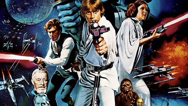 Star Wars Poster Cropped