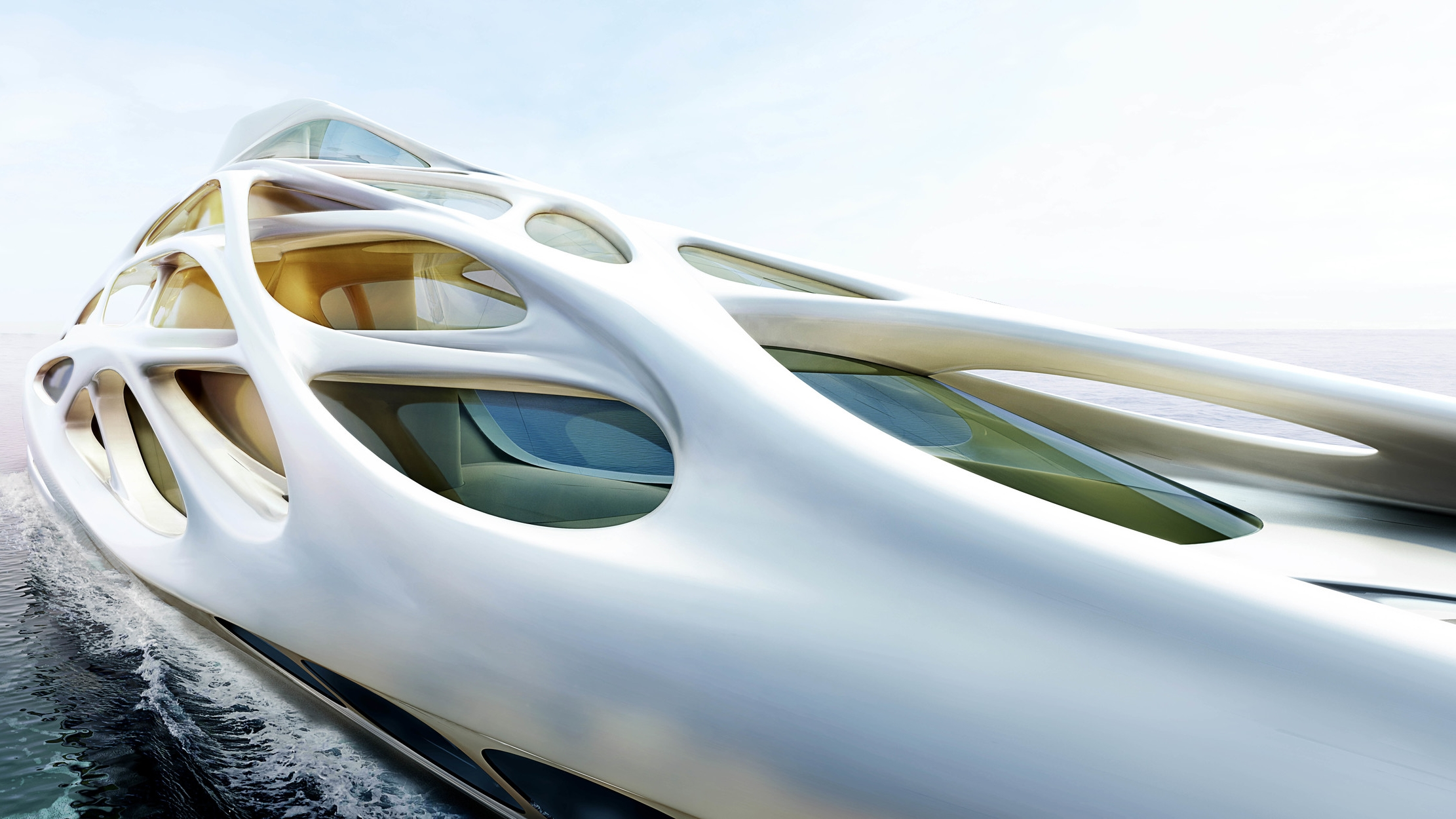 Superyacht for Blohm and Voss   |   Zaha Hadid Architects
