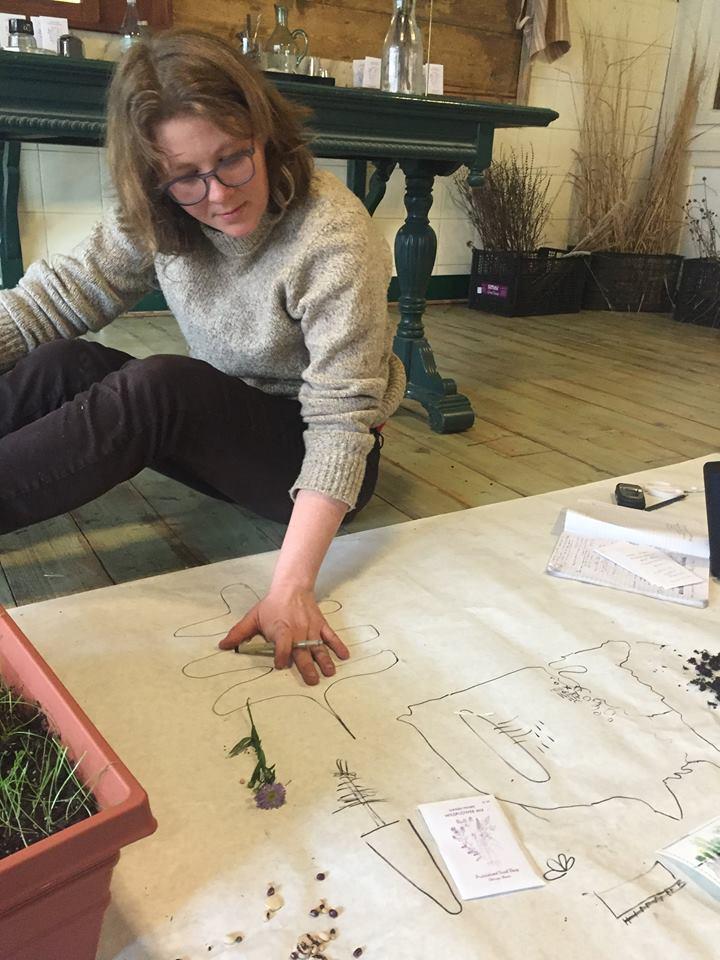 Kathleen Soler's seed germination workshop