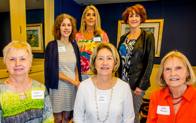 First Row, left to right: Denise Watermeier, Joan Lovell, Judy Mower  Second Row, left to right: Stephie Fleming, Cindy Taliaferro, Lisa Sebastian