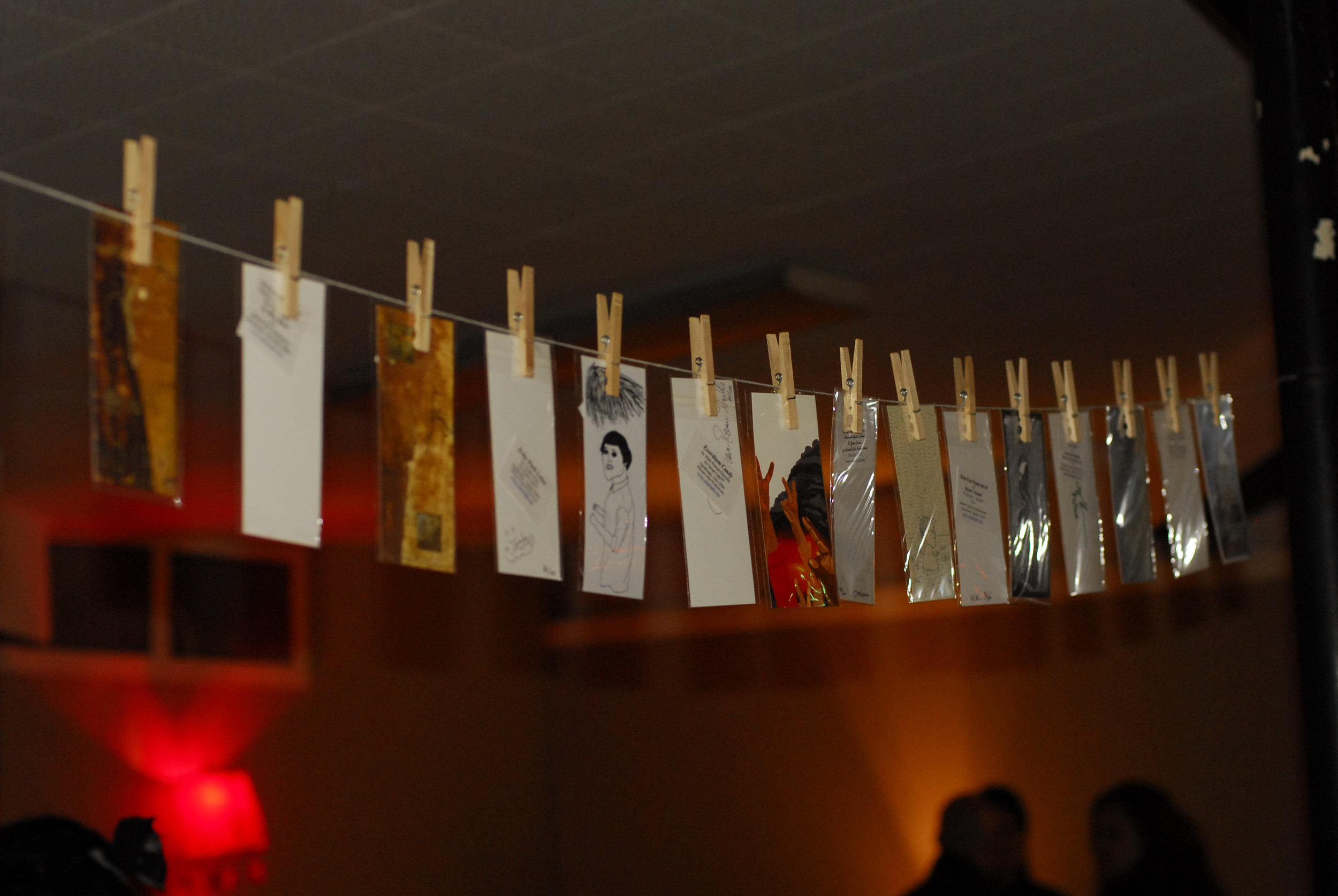 All the bookmarks that were ever made for The Speakeasy.