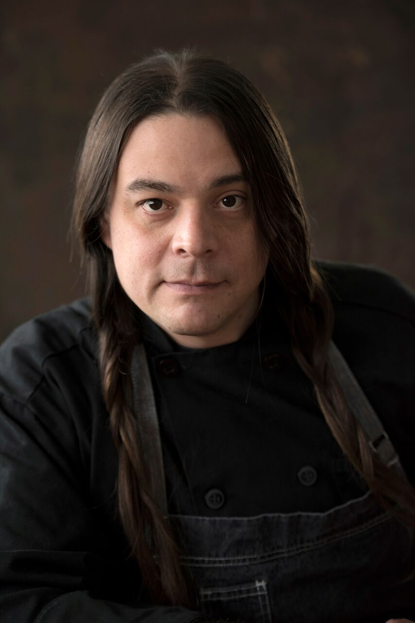 Sean Sherman , co-owner, The Sioux Chef, author,  The Sioux Chef's Indigenous Kitchen