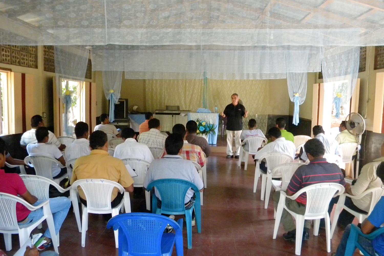 Pastor Training in Nicaragua