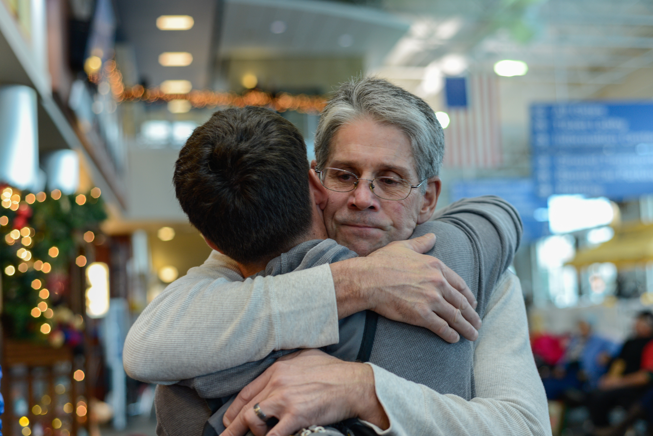 The love Rick has for his son. This photo gives me chills from all the emotions behind it.