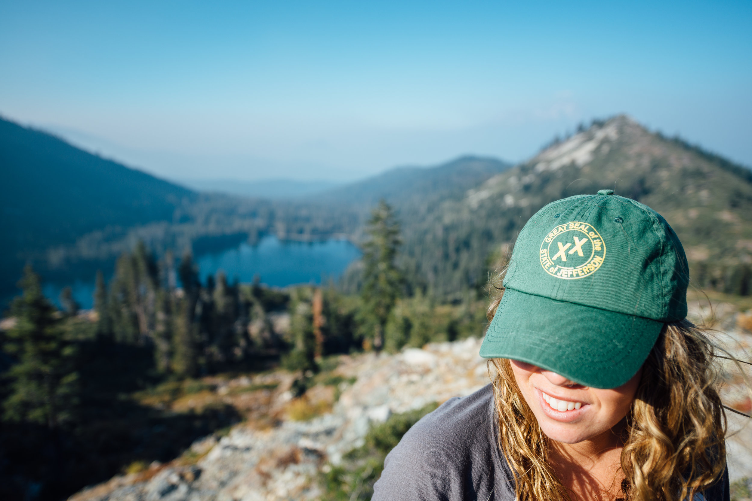 Reppin' my State of Jefferson hat! Thank you Isaac for your patience and for the shot!