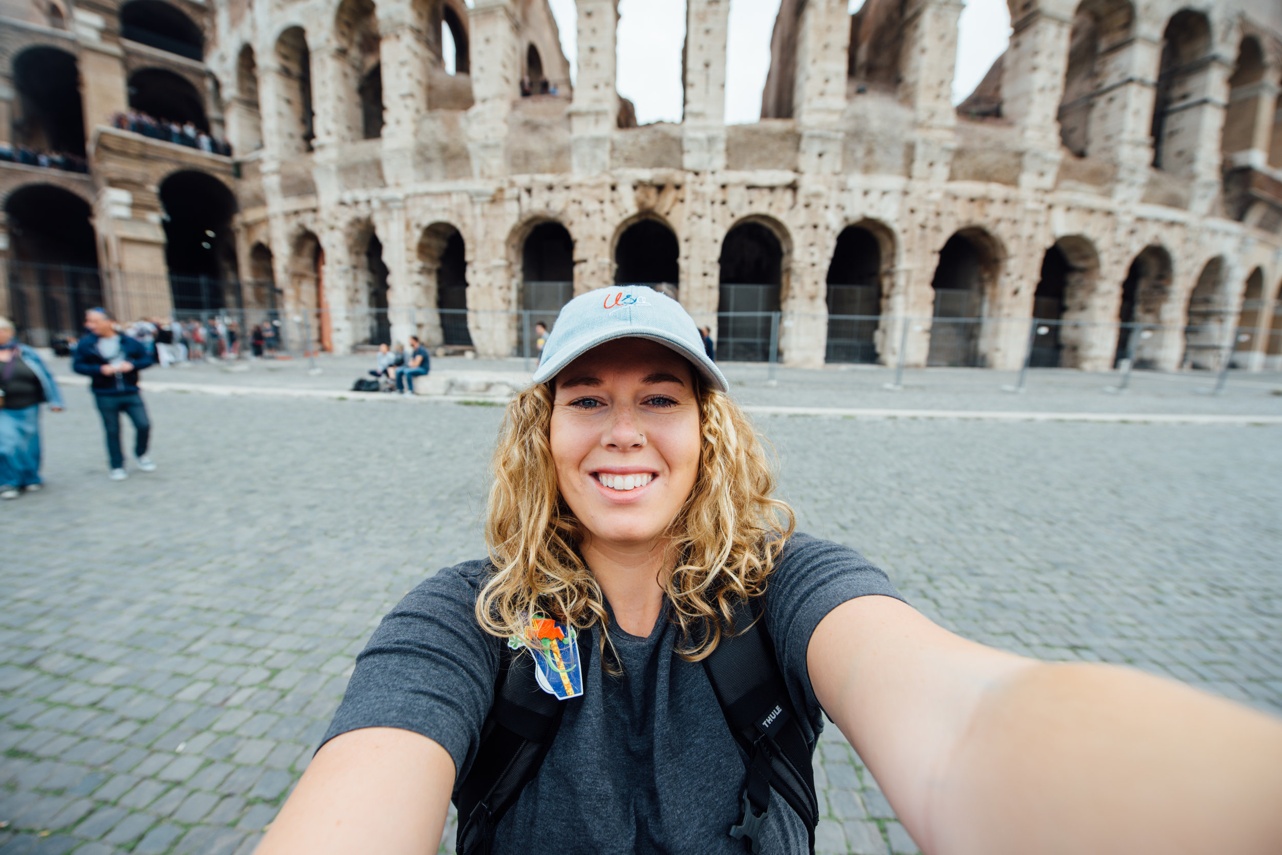 Made it to the iconic Colosseum! Roma, Italy