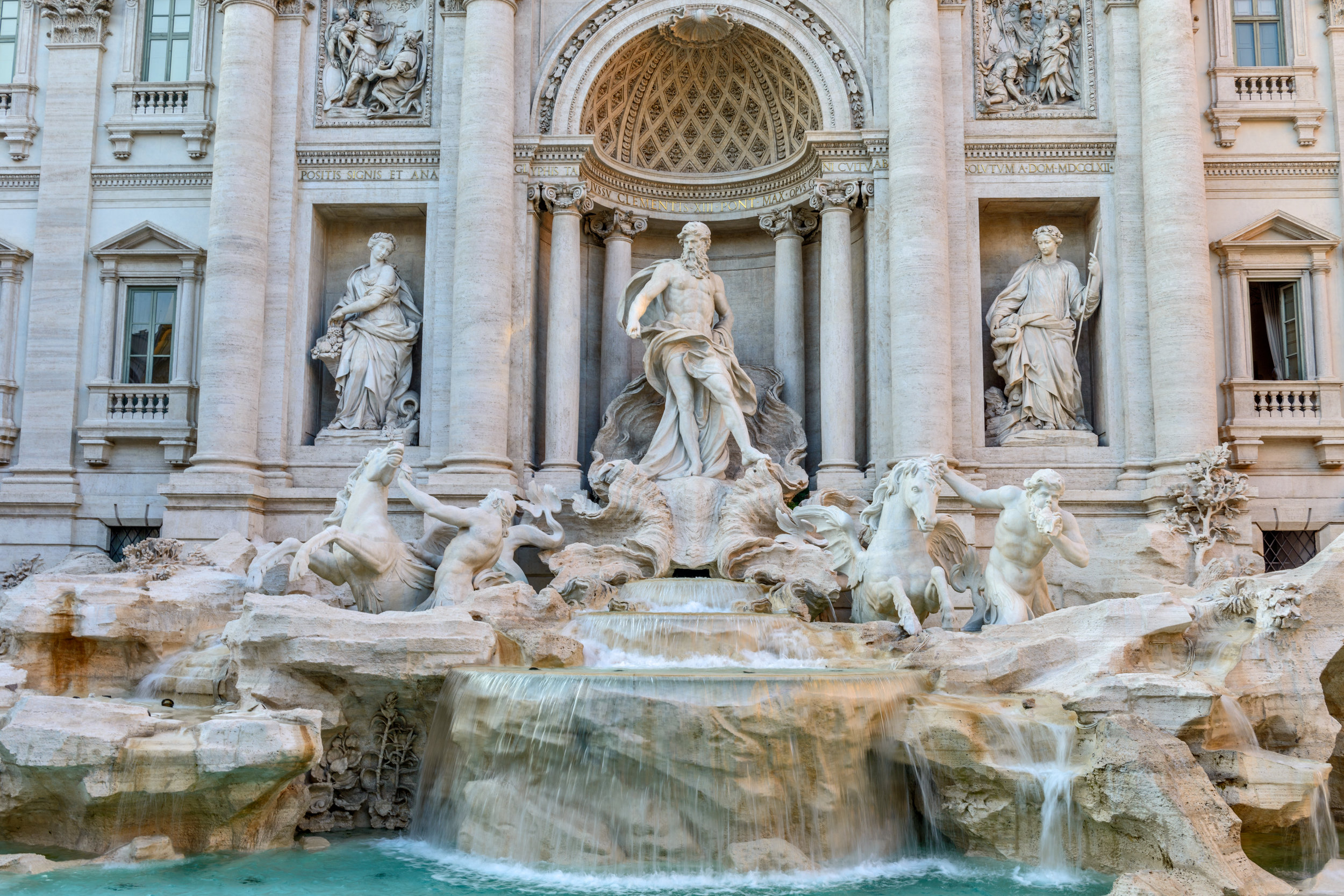 """Trevi Fountain - """"Hey now, Hey now this is what dreams are made of"""" Roma, Italy"""