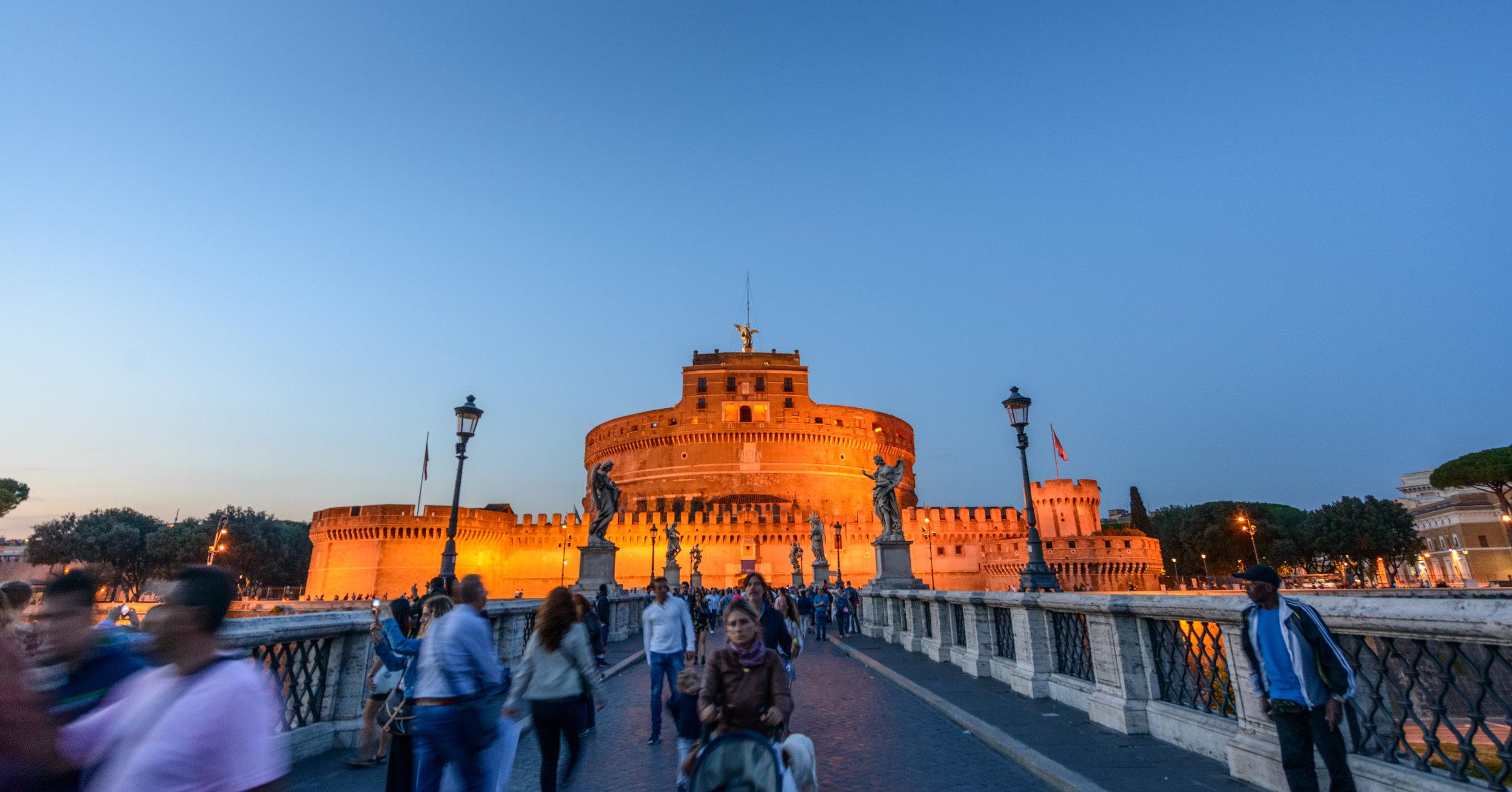 Night life Roma, Italy