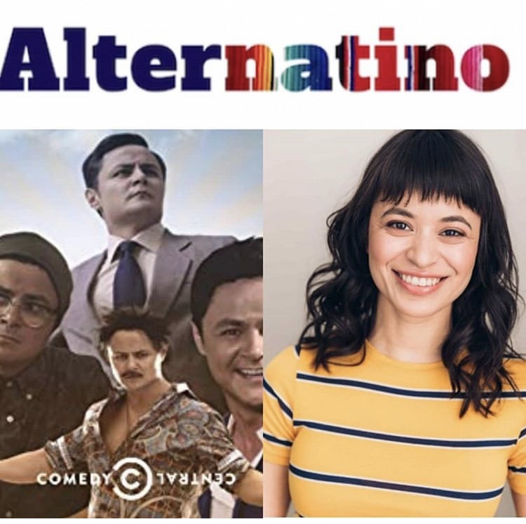 Recently booked a co-star on Arturo Castro's pilot Alternatino on Comedy Central -