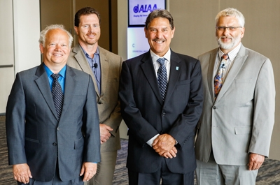 """""""Energy Trends and Their Implications on Advanced Technology"""" at the AIAA Propulsion and Energy Forum in Cleveland."""