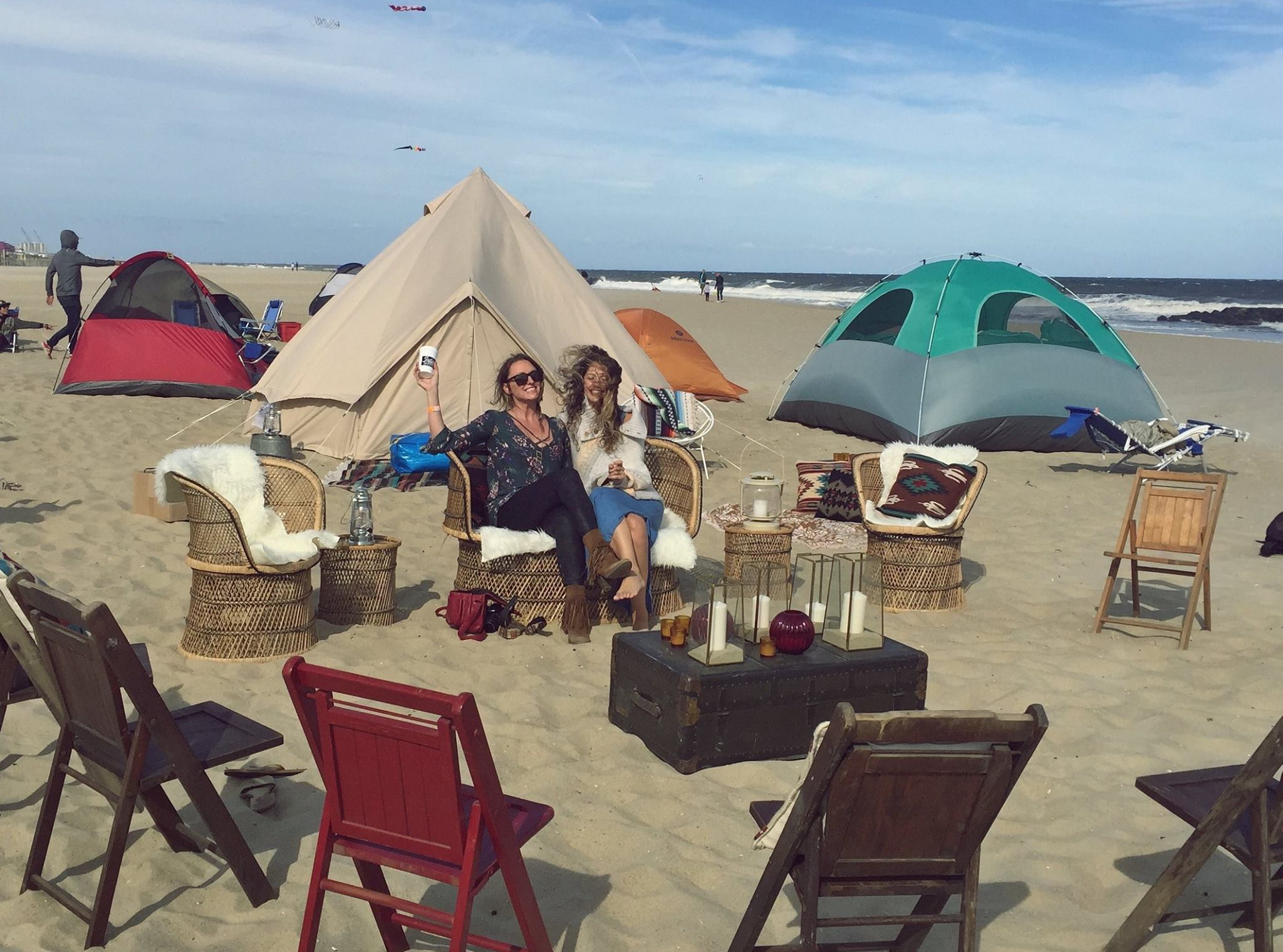 NOMAD camping lounge 2015.
