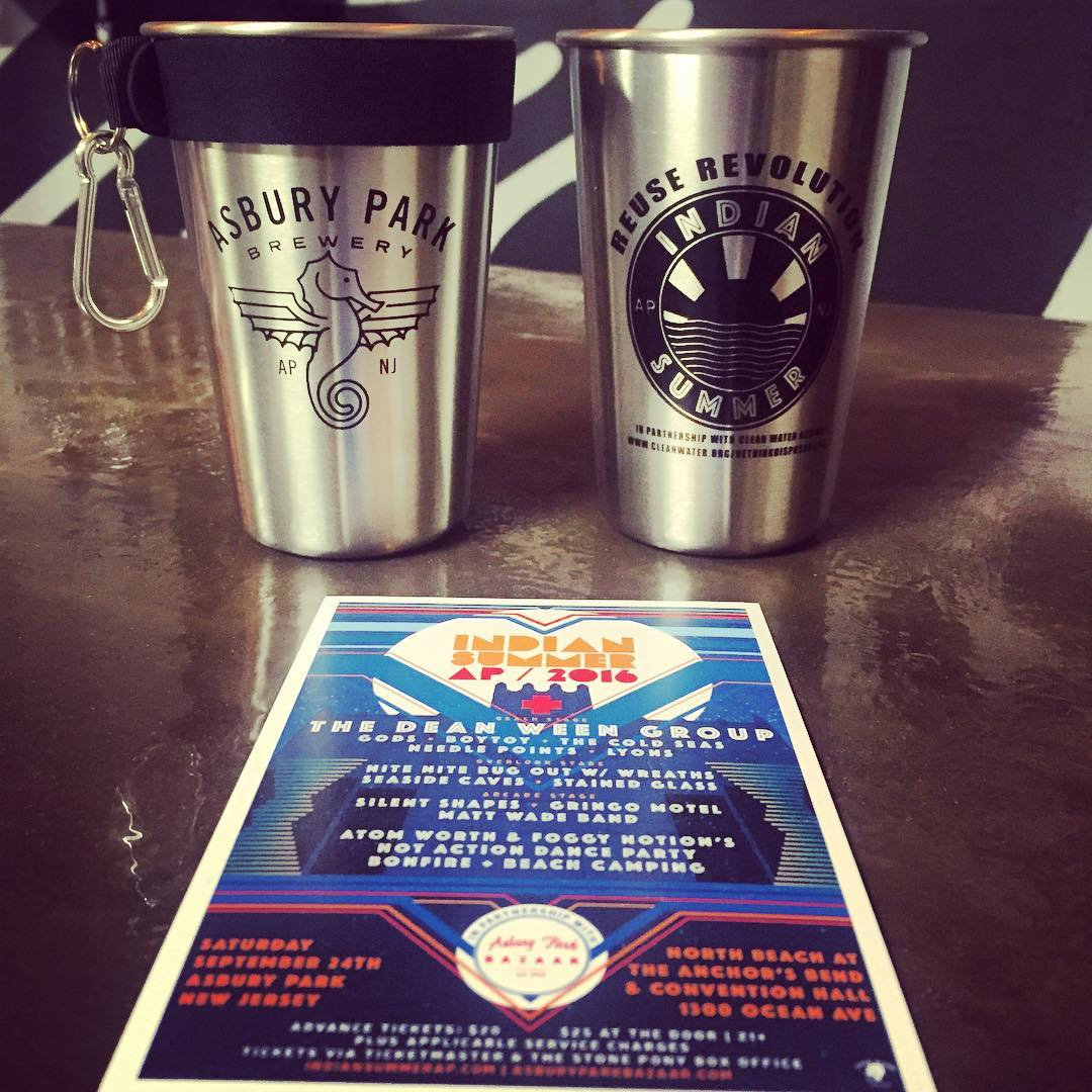 Asbury Park Brewery is the official beer sponsor of Indian Summer 2016
