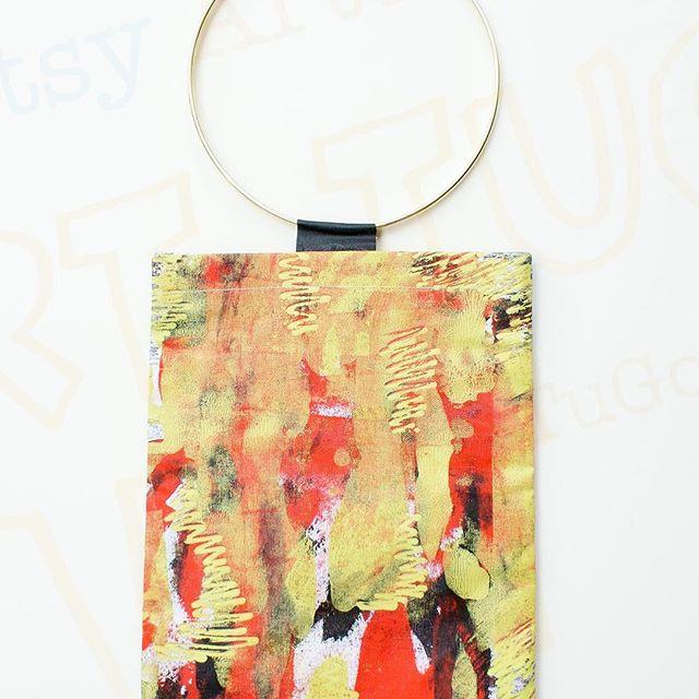 art tugo - handpainted canvass bags saturday