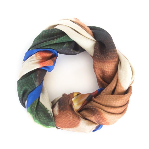 chetna singh - art scarves Sunday